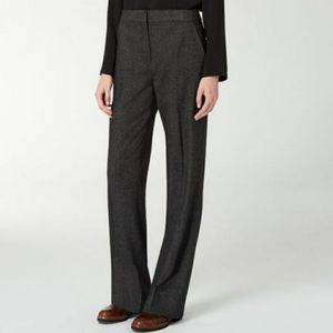 MaxMara black wool and silk blend Marina pants